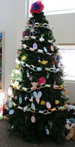 Decorating Tree at Center for Abused Children