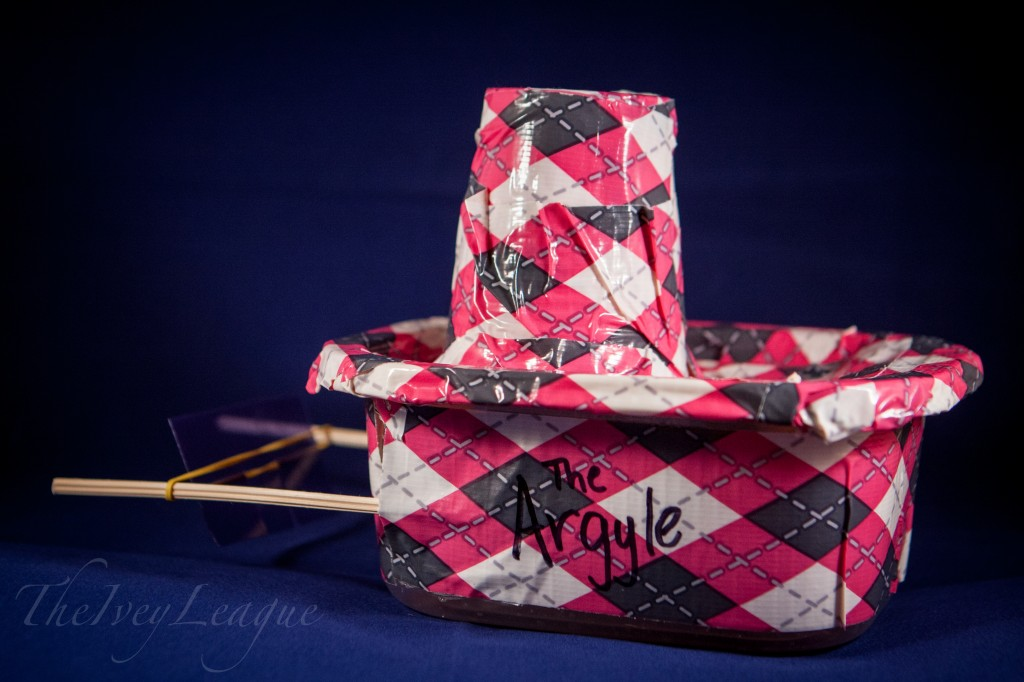 Homemade Argyle Paddle Boat
