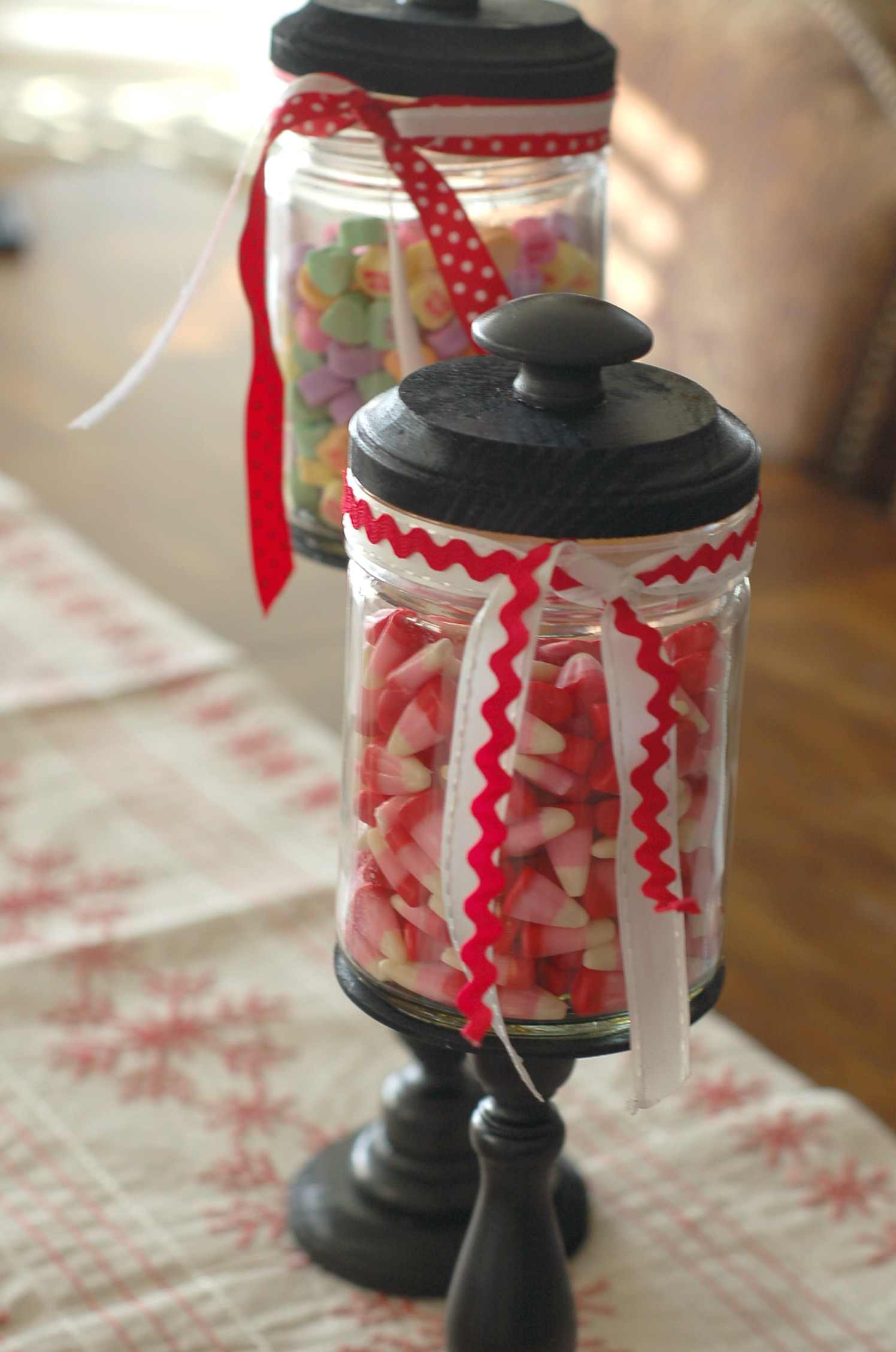 Holiday Craft jars