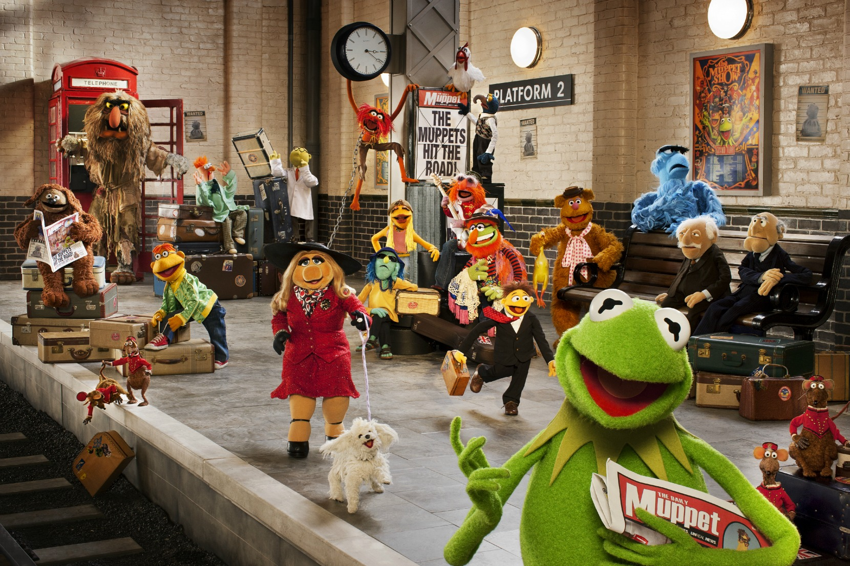 The Muppets...Again!-Movie-Muppets-Tina Fey-Kermit the Frog-Miss Piggie