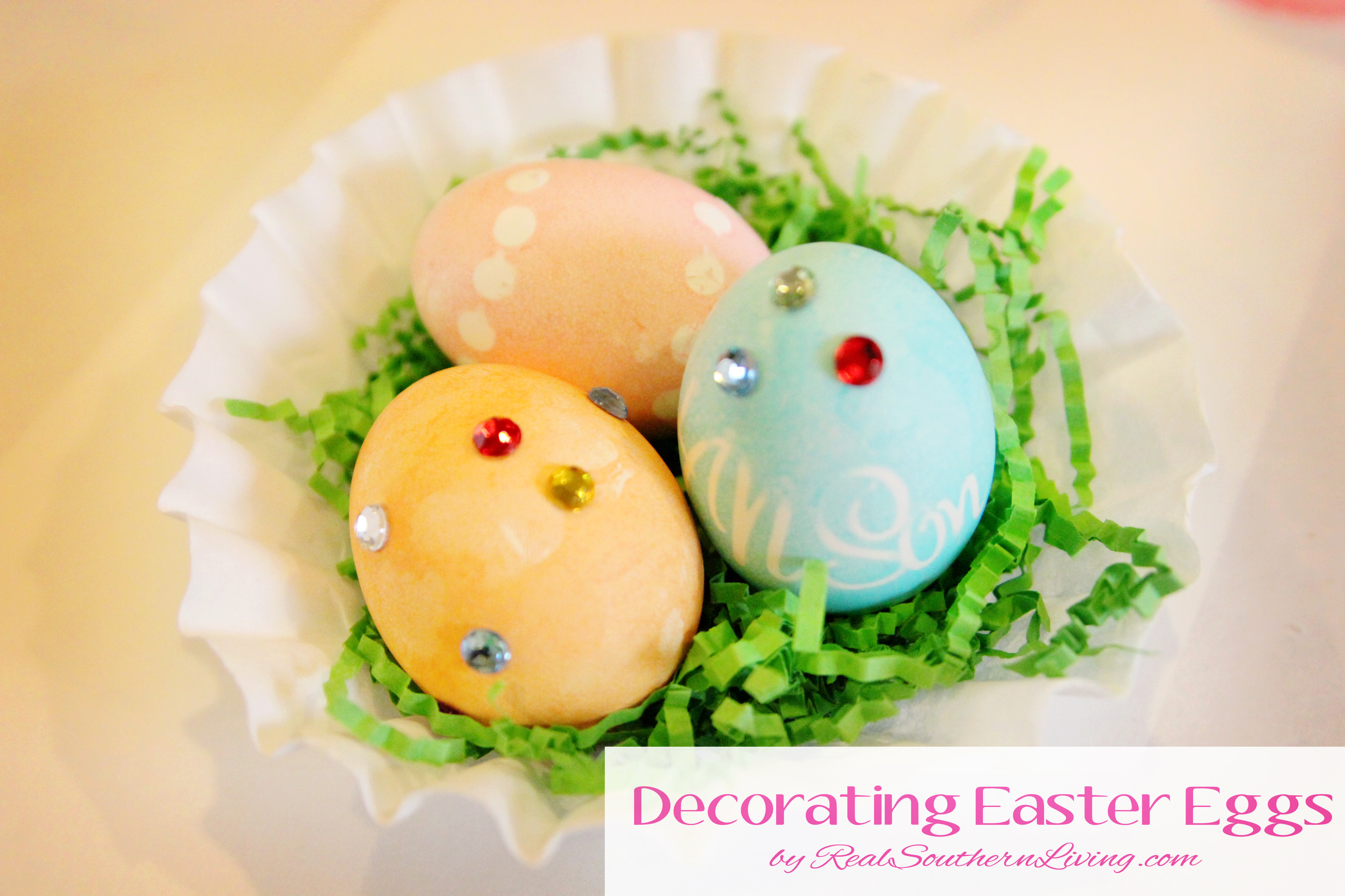 Kids Craft Decorating Easter Eggs Mom It Forward
