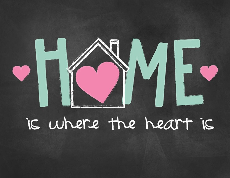 Home is where your heart is printable mom it forwardmom for What is family home