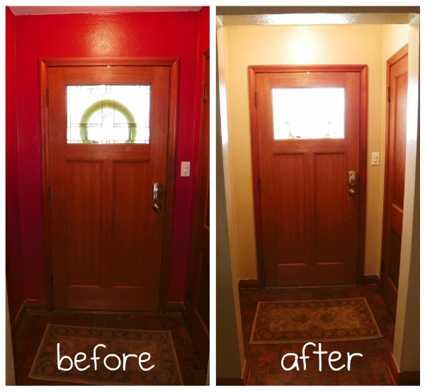 how to painting over red wallsmom it forward