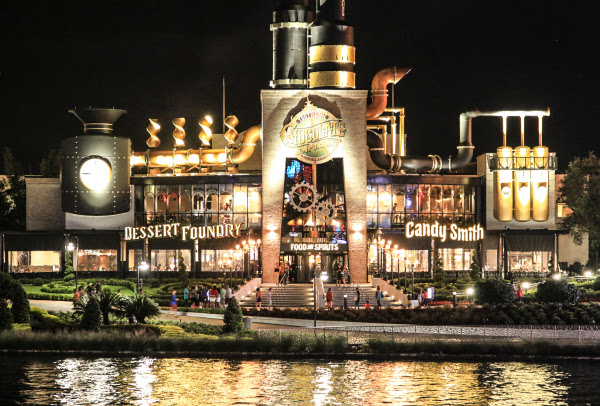 Toothsome Chocolate Emporium-Night View